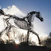 'Horse power' by Zadok Ben-David (2003)