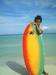 Island Life (silent angel) Tags: bantayan rasta skimboard island