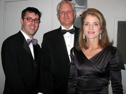 With Caroline Kennedy and Ed Schlossberg
