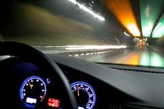zoomin' (Ben McLeod) Tags: flickrimportr night driving longexposure car volkswagen vw passat
