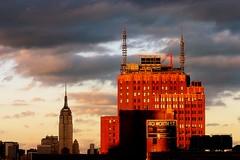 40 Worth Street (Arnold Pouteau's) Tags: nyc newyorkcity sunset newyork wow downtown manhattan esb tribeca outsidethewindow f25 nyc10 50ms