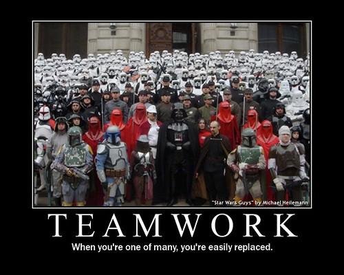 Darth Vader teamwork