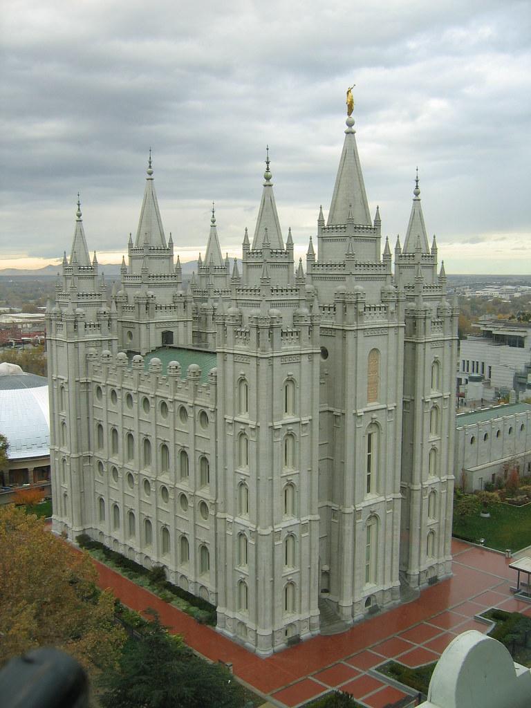 Salt Lake Temple from JSMB