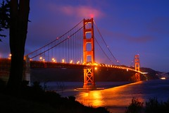 Golden Gate Bridge (H2ORANGE) Tags: ocean sanfrancisco california light red orange clouds death bay jump paradise minolta suicide goldengatebridge 7d barrier konica 1031 maxxum dynak pict0947 firsttheearth
