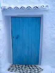 Chouen door (followben) Tags: morocco chouen door blue