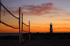 playtime's over (jen clix) Tags: california sunset santacruz lighthouse 510fav harbor jetty timetogohome sundayevening volleyballnets nomoreplay herestosundaybloodymarys afterthecrowsnest startthebonfire utatafeature
