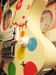 hello kitty guitar (hey-gem) Tags: music macro cute guitar hellokitty taiwan guitars taipei instruments musicalinstruments electricguitar electricguitars  gemexoticguitars gemguitarphotos05