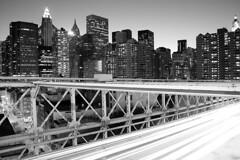 New York City (xprocessed) Tags: new york city nyc newyorkcity longexposure bridge urban blackandwhite bw ny newyork blancoynegro brooklyn night digital blackwhite lowlight cityscape traffic manhattan bnw booklynbridge amw bulbexposure avaliablelight schwarzweis czarnobiae czarnobiale