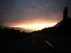 Burnin Sky (System One Gang) Tags: sky sunset afterglow highway