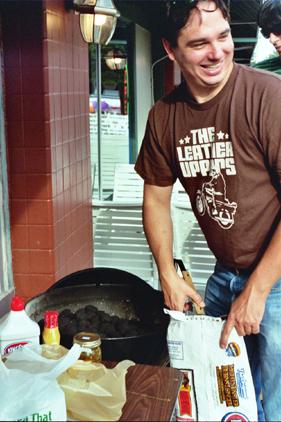 Eric cooks!