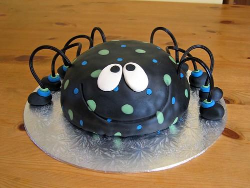 Awe Inspiring Spotty Spider Beautiful Birthday Cakes Funny Birthday Cards Online Inifofree Goldxyz