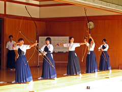 Kyudo girls going through the motions (vfowler) Tags: 15fav woman topf25 japan 1025fav 510fav interesting topf50 topv333 kyoto topv1111 traditional topv999 culture martialarts 100v10f explore 2550fav 500plus20 50100fav   topv3333 topf100    cotcmostfavorited 999v9f 666v6f 10faves abigfave 30faves30comments300views 100199fav