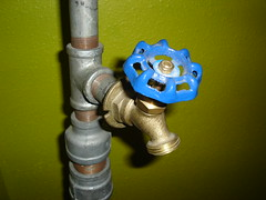 water spigot switch
