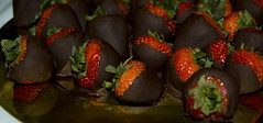 Chocolate Covered Strawberries (willvaughan) Tags: strawberries chocolate dessert red yummy delicious tasty sweet lucious tag1 tag2 tag3 taggedout crispy crispiest