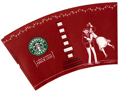 Starbucks 'Red Cup' 2005 (mistletoe)