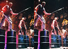 Orpheum Walkers 3D.jpg (SteveMcN) Tags: stomp orpheum nyc performance 3d sterography crosseye