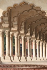 Arches at Agra Fort, India (Bill in DC) Tags: 2005 india agra eos20d agrafort nge bluelist