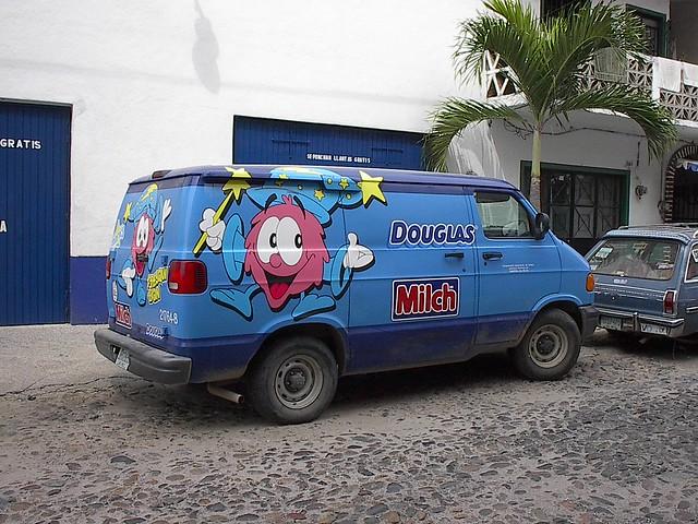 mexico puertovallarta dodge ram van delivery