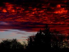 Sunrise #048 (jimall) Tags: winter red copyright orange clouds sunrise fire yahoo interestingness google amazing flickr explorer exploreinterestingness copyrighted jimallebach jimall a