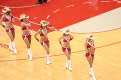 Power Dancers (dannypresson) Tags: rockets vs mavs powerdancers power dancers cowgirls sexy houston