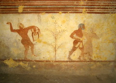 Tomba dei Bacchanti bacchanals