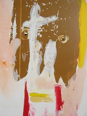 Chacun a crot (detail#1) (Nicolas JONVAL) Tags: france art face museum painting artist grasse cotedazur acrylic raw cobra canva rawart folkart outsiderart gallery frenchriviera