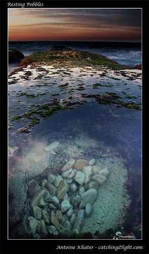 resting pebbles