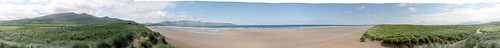 Panorama - Ring of Kerry, Beach