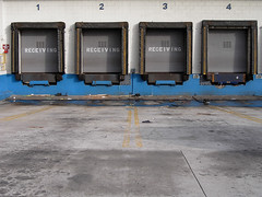 dissent (fliegender) Tags: california blue la losangeles dock downtown socal loading exil jdf