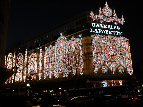 Christmas Decoration of the Galeries Lafayette