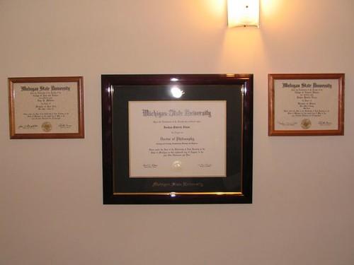 Ph.D. Diploma