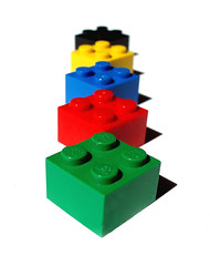 Colored Legos