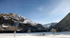 winterly landscape #6 (Pierre Metivier) Tags: winter wallpaper panorama mountain snow france alps alpes stitch ancelle hautesalpes