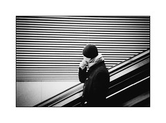 No picture please (cardijo) Tags: austria österreich salzburg street streetphotography strase bahnhof trainstation people menschen bw blackandwhite sw schwarzweis film analog kodak tmax400 yashicat4 tessar carlzeiss