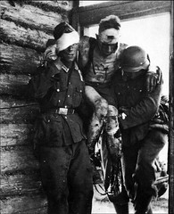 #German soldiers carry a severely wounded comrade to shelter on the Eastern Front [894 × 1100] nsfw #history #retro #vintage #dh #HistoryPorn http://ift.tt/2h8ZD46 (Histolines) Tags: histolines history timeline retro vinatage german soldiers carry severely wounded comrade shelter eastern front 894 × 1100 nsfw vintage dh historyporn httpifttt2h8zd46