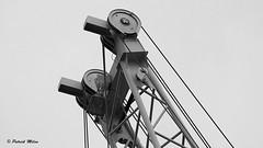 Struture in the sky (patrick_milan) Tags: metal structure crane sky ciel port minimalism