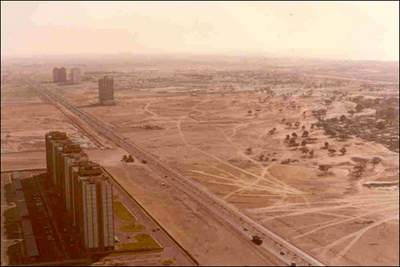 dubai before