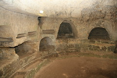 Catacombs beneath the San Giovanni Church