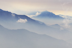 Taiwan Landscape (Mingfong) Tags: desktop travel pink blue cloud mountains art nature colors landscape photography interestingness bravo flickr artistic cloudy taiwan poetic explore story land albumcover dreamy  stories   emptiness  digitalphotography chinesepainting     luminouslandscape  beautifullandscape    mingfong     impressedbeauty  taiwantour beautifultaiwan taiwanlandscape poeticlandscape  taiwanmountains    mingfongjan  articulateimages  taiwanmountainsflickr  visittaiwan   thecentralridgeoftaiwan flickrpopularphotos taiwansightseeing  imagesoftaiwan taiwanimagesflickr artbrochure sketchoflight