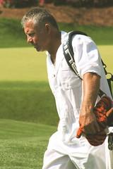 Tiger Woods caddie