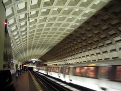 dc metro in motion