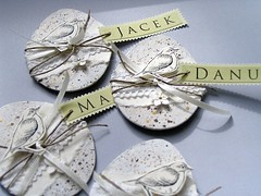 place cards (minttint) Tags: paper easter spring handmade egg card placecard