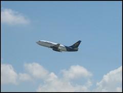 Pluna CX-BON 737-200 (CX-JBS) Tags: uruguay montevideo javier carrasco avin aeropuerto aviacin sumu robojavo