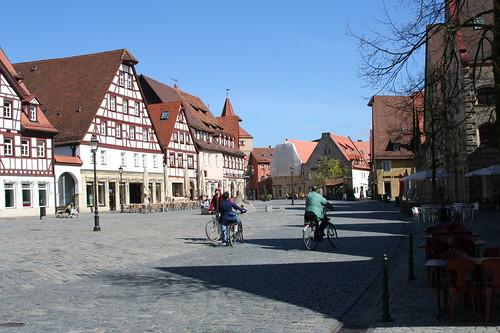 Lauf, Marktplatz, Richtung Hersbrucker Tor, 2007
