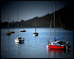 Sunrise (andrewlee1967) Tags: uk england landscape boats staffordshire andrewlee rudyardlake canon400d andrewlee1967 andylee1967 focusman5