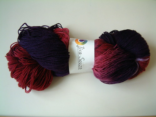 Lisa Souza Sock! Merino- Berry Poppins