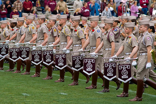 texas aggies. The Fightin#39; Texas Aggie Band