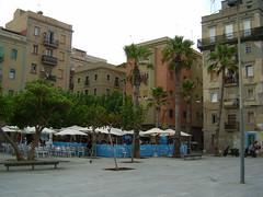 Una plaça de la Barceloneta | http://www.flickr.com