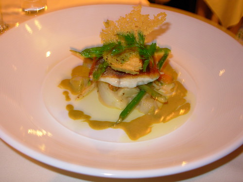 Crown at Whitebrook: Seabass