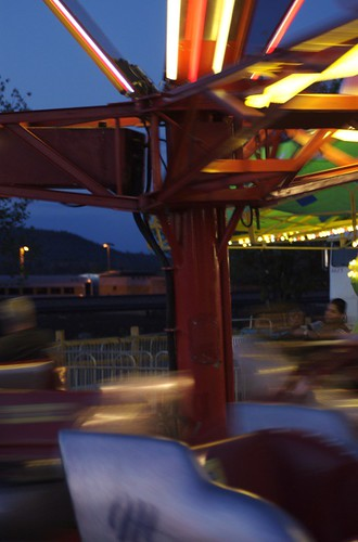 The Scrambler With Motion Blur